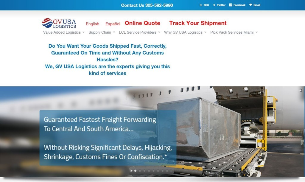 GV USA Logistics Case Study