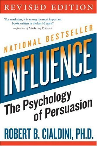 Marketing Books - Influence: The Psychology of Persuasion